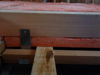 羽入の家リノベーション 床の断熱材を施工しました