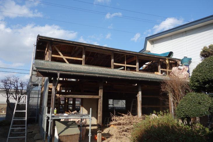 農作業倉庫新築工事